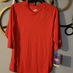 Unisex Rawlings Baseball Shirt NWT